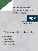2GER Und Neue Rechtschreibung