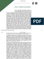 Entre o risco e o acaso _ a vertigem do pensamento - Revista Eletrônica de Jornalismo Científico - Jorge Vasconcelos