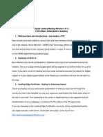digitalleadersmeetingminutes4 9 13