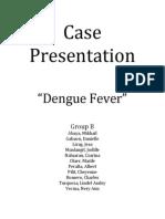 Case Presentation Dengue
