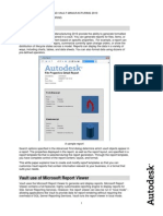 AUTODESK Report Template Authoring