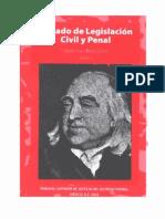Bentham Tratado de Legislacion Civil y Penal - Tomo V