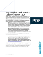 Migrating Autodesk Inventor Data in Autodesk Vault