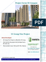SS Group New Project Price list Call @ 09999536147 Sector 83 Gurgaon