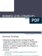 6. Generic Strategy