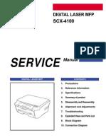Samsung Scx-4100 Service Manual