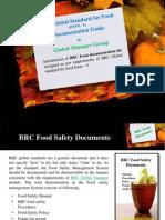 BRC Global Standard for Food issue 6 Documentation