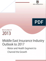 Motor and Health Segments to Fuel the Growth of the Middle East Insurance Market