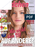 Mädchen Magazin No 25 vom 20 November 2013