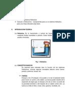 OBJETIVOS - Intro . Hidraulica