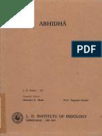 Abhidha