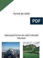 Forme de Relief