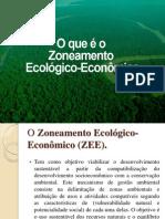 Zoneamento Ecologico Economico e Conservação da Genetica