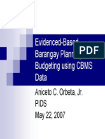 Brgy. Budgeting in the Philippines