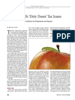 The IRSs Dirty Dozen Tax Scams