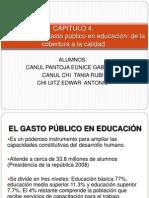 Informe desarrollo humano Educación