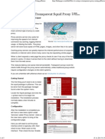Pfsense - Transparent Proxy