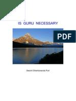 56143064 Article is GURU Necessary