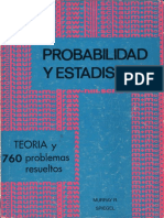 probabilidad y estadistica, 760 problemas resueltos-murray r spiegel