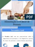 alimentação e cancer de prostata