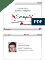 Open Source Business Intelligence SpagoBI