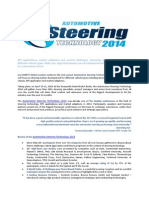 Automotive Steering Technology 2014. Preview.