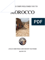Peace Corps Morocco Welcome Book  |  July 2013 'CCD'