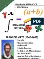 Preludio a La Matmatica Moderna Hist de Mat