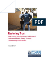 ACLU Maryland Report