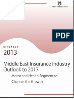 middle east insurance industry