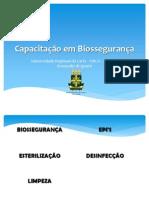 Capacitação em Biossegurança