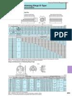 Datasheet of Spring Pins and Retaining Rings E-Type