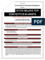 Consultative Selling Skills Brochure