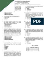 Evaluación Sociales IV Periodo 8°