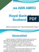 Fuziunea Abn Amro - RBS