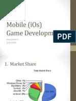 Mobile (iOs) Game Development