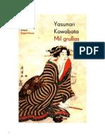 6588854 Kawabata Yasunari Mil Grullas