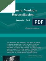 Violencia, Verdad y Reconciliación - Benjamín Crespo