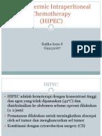 HIPEC presentasi jurding