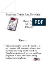 Exposure Timer and Switches