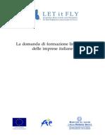 La Domanda Di Formazione Linguistica Delle Imprese Italiane