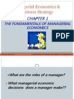 The Fundamentals of Managerial Economics