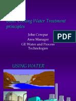 Cooling Water Treatment John Cow Par