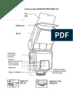 Istruzioni Flash Exakta DCZ 38 AF