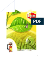 Lipton Marketing Analysis