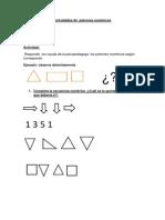 Actividades de  patrones numéricos