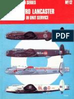 Osprey Aircam Aviation Series 12 - Avro Lancaster in Unit Service