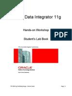 PTS ODI11g Workshop LabBook Nov-2010