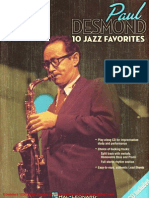 Jazz Play-Along Vol.75 - Paul Desmond