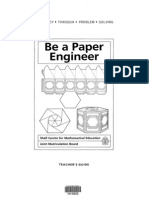 3632-Be a Paper Engineer Teachers Guide
